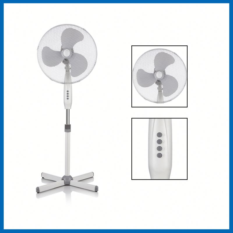 high quality cixi cheap 16 inch electric double oscillation stand fan