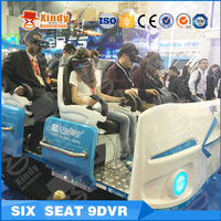 Hot sale Shopping Mall VR Cinema 9d vr new generation with5D 7D 9D game