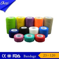 Free sample available soft and comfortable elastic adhesive bandage with fda certificates