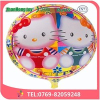 dongguang factory price hello kitty balloon foil balloon