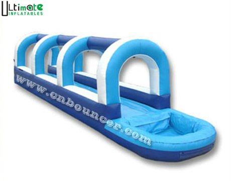 Hot sale single lane inflatable slip and slide