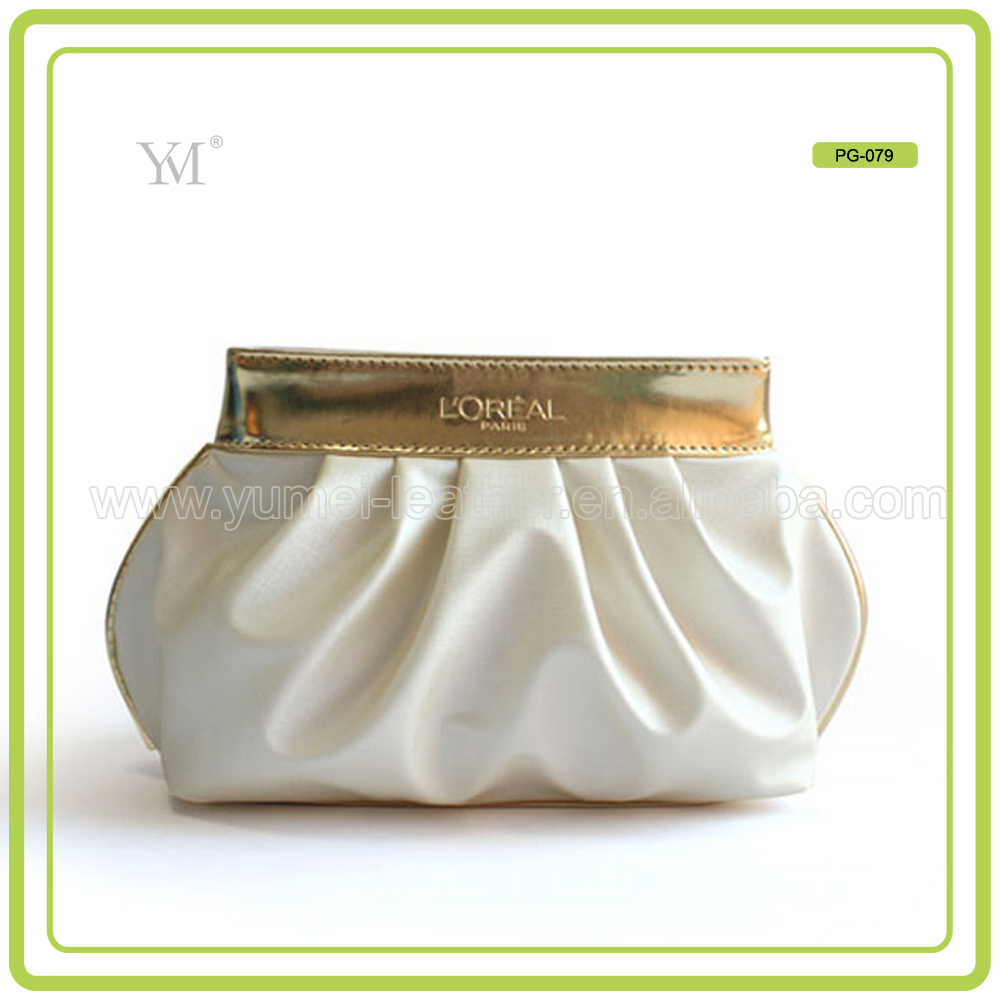 mini zippered make-up jewelry pouch
