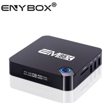 HDMI2.0 4K Resolution ENY Exclusive HDD Media Player with Power Switch Button Beautiful Appearance Android TV Box