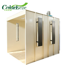 CE ISO9001 Certification PCB-25001 Manual Powder Coating Booth