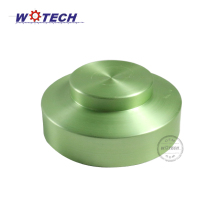 Factory spun part metal spinning round aluminum case