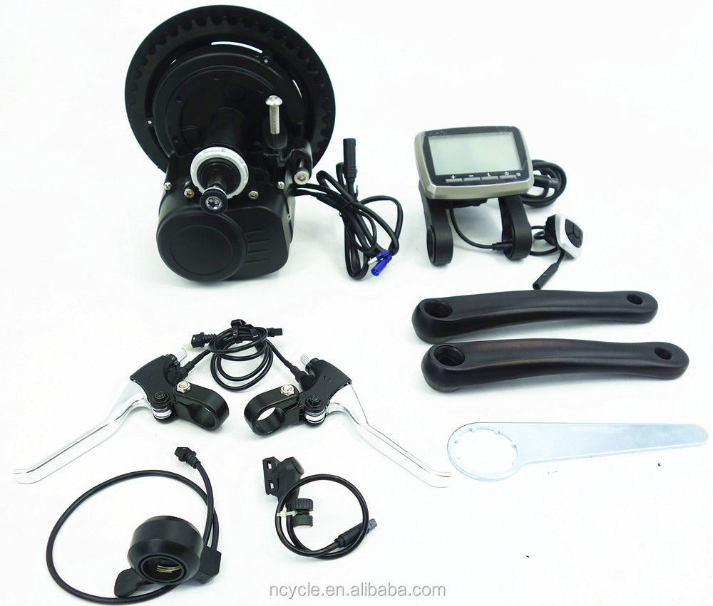 The best selling Tong Sheng Mid Drive Motor ebike conversion kits for electric bike