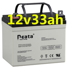 Neata Deep cycle long working hour agm battery 12v33ah