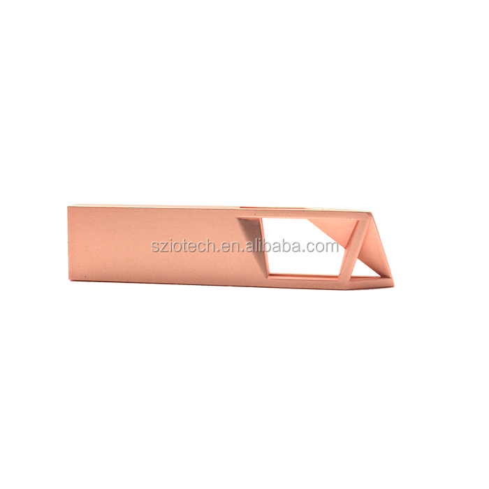 Bulk Cheap 8GB USB Flash Drive Rose Gold Metal USB Memory Sticks