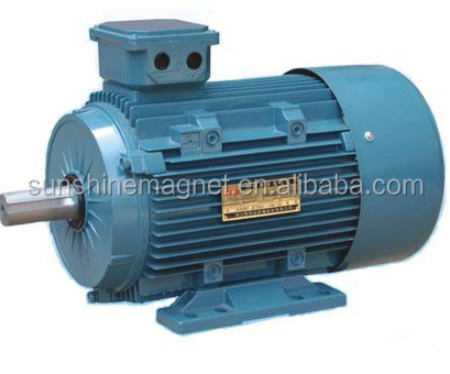 PMSM Permanent magnet synchronous motors 3 three Phase 750RPM, 115KW 160KW 200KW