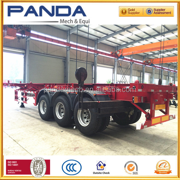 PANDA Widely Used 20' Chassis/ Three-axle Container Truck Trailer with BPW Axle