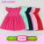 Children clothing kid new model casual dresses flutter sleeve fashion frock baby monograms blank girls dress names with pictures