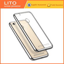 Trade Assurance electroplating soft tpu phone cover for xiaomi mi3s case