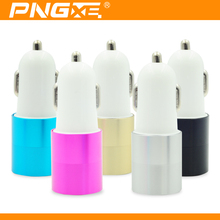 PNGXE new universal mobile phone car charger usb adapter for iphone and micro