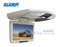 Suoer Good sale 9 inch car roof- mounted car screen LCD tv monitor