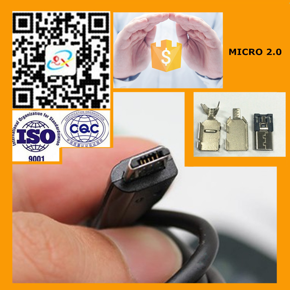 Hot Saling Iron 2.0 usb connector