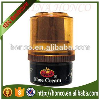 Hot selling shoe cream with cloth
