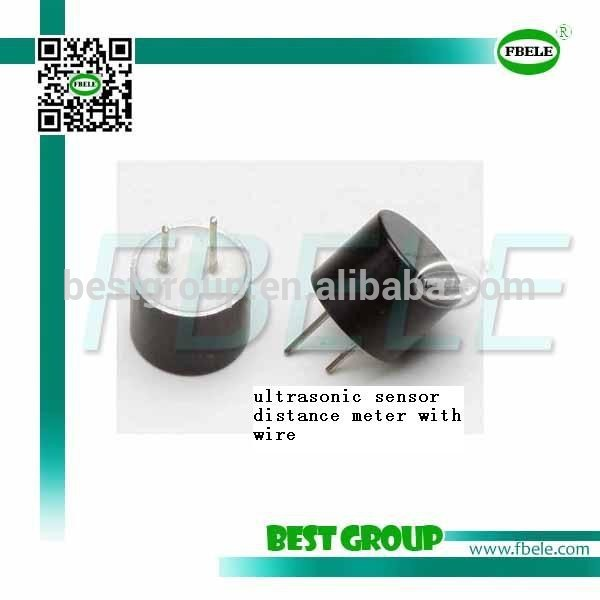 Ultrasonic range finder sensor with wire FBULS1007