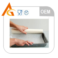 disposable printed organic baking paper product