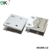 Stainless steel adjust shower mirror door pivot hinge