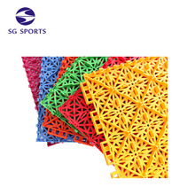 SG SPORTS Eco-friendly Outdoor Sport Interlocking Basketball Court Flooring
