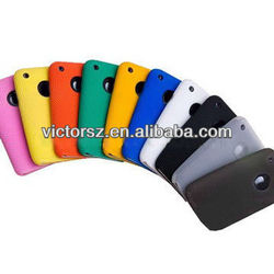 10 colors Silicone case for iPhone 3G,10pcs/lot