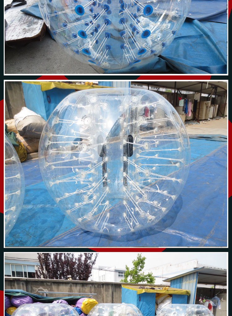 inflatable human body bubble ball for sale