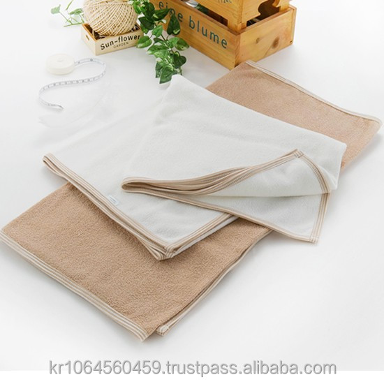 B100 Organic Cotton baby Bath Towel
