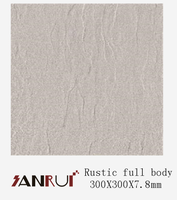 300X300mm clean matte finish indoor full body porcelain floor tile