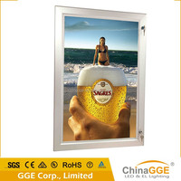 High brightness waterproof LED panel board for hotels notice