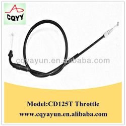 CD125T motorcycle part, motorcycle throttle cable