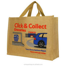 Ample supply and prompt delivery hot selling handmade linen jute bags
