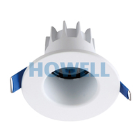 BF26851 NINGBO Aluminum material small round shape deep COB led 5W recessed ceiling light