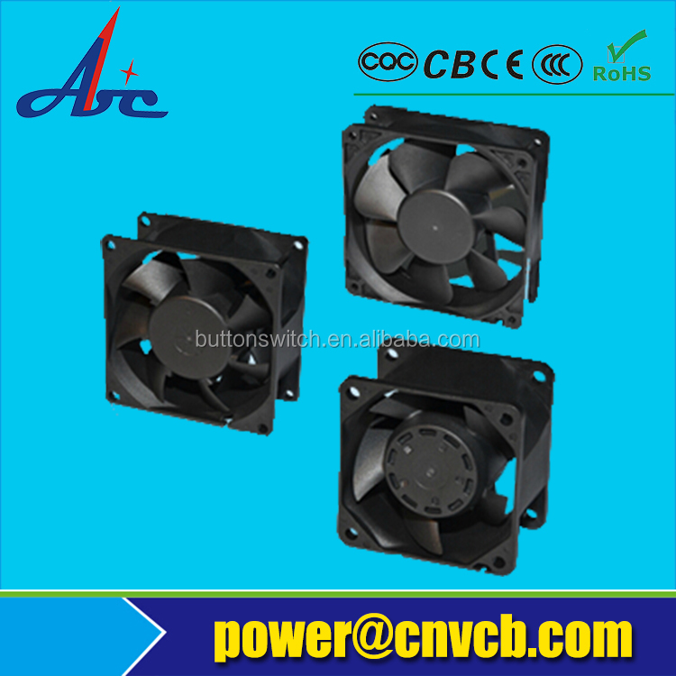 F14 Hot sale 17238 172x150x38mm 110/220v cooling fan aluminum cooling fan 110v
