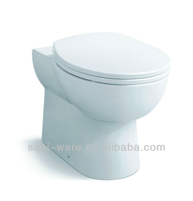 Economical floor mounted wc toilet from China factory S7566