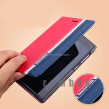 Flip PU Leather Wallet Case Cover for Nokia E63
