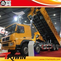 manufacturer customized EURO 3 left right hand steering choose 290hp 213KW cheap 8x4 15 ton tipper truck