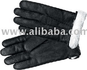 Man Leather Glove