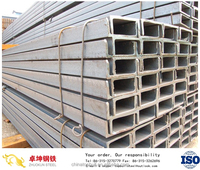 JIS standard hot rolled carbon mild structural steel u channel