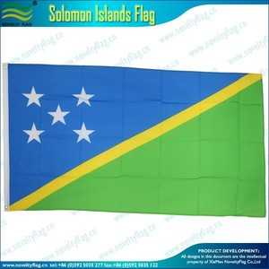 3'x5' or 3'x6' Solomon Islands Country Flag