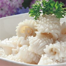 Pineapple cut squid frozen squid flower for sale