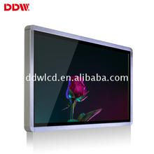 DDW technology ultra narrow bezel seamless lcd display wall tv unit designs for ads
