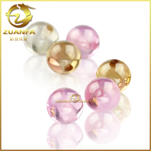bracelet making gemstone with small hole 8mm round shaped cubic zirconia ball