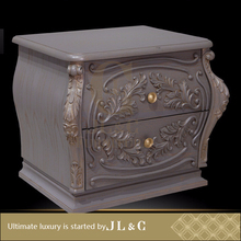 AB02-03 Bedstand with Solid Wood Olive Branch Engraving from JL&C Luxury Classic Home Furniture (China Supplier)