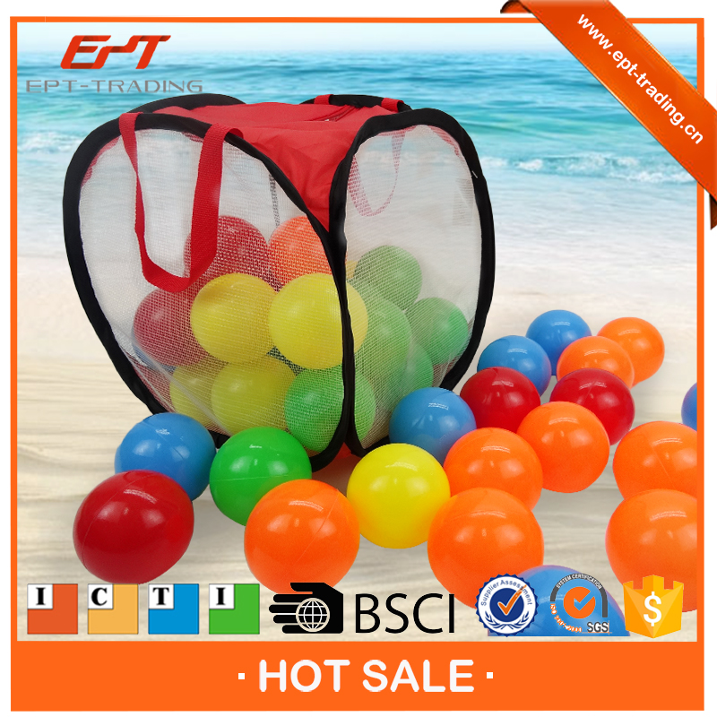 50PCS Colorful multi colors funny pool ball ocean toy ball for sale