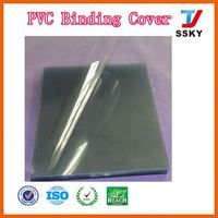 New ISO cheap a4 high quality office and school supplies transparent pvc cover notebook