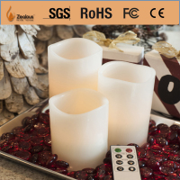 remote controlled decoration led candle ideas