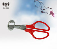 New style Office plastic scissors for round cutting