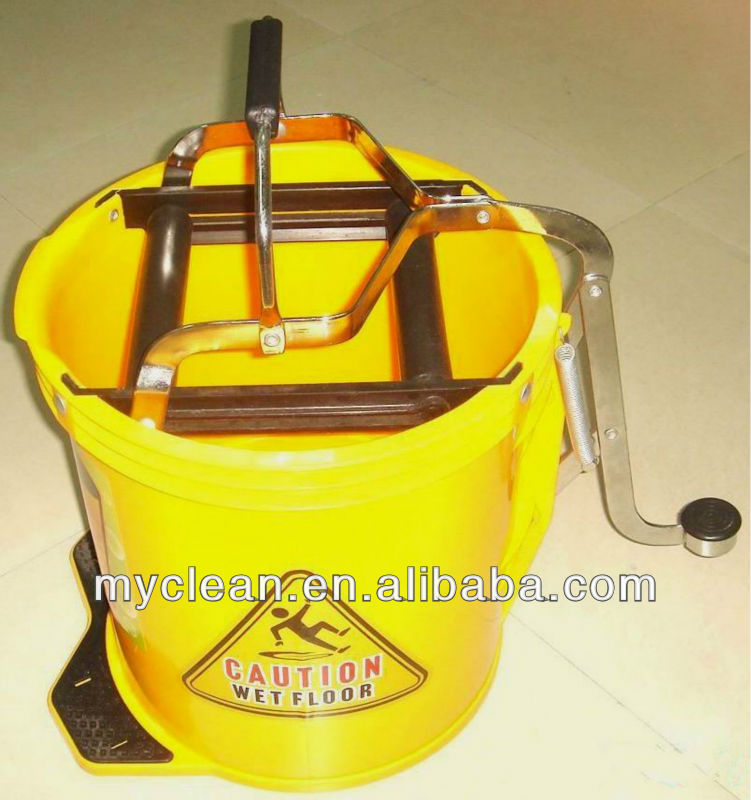 mop bucket wringer with wheels