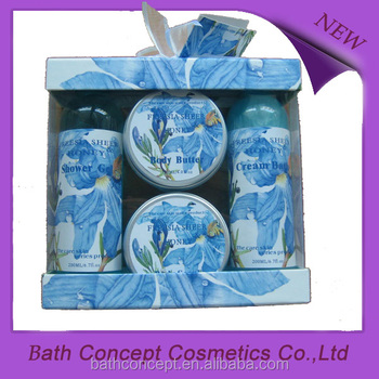 Ocean scent blue set bath gift set