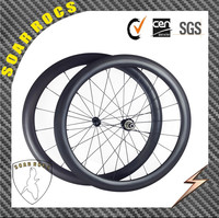 700C carbon wheelset U shape 50mm clincher road bike wheelset Chinese factory floor price with super light wheels